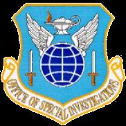 Private investigator AFOSI Logo