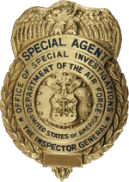 AFD Private Investigation Badge